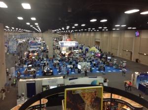The NSTA Exhibit Hall San Antonio 2013
